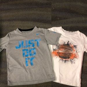 Other - Nike tee shirts (bundle of 2) size dri fit